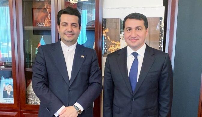 Hajiyev met with Mousavi for the second time