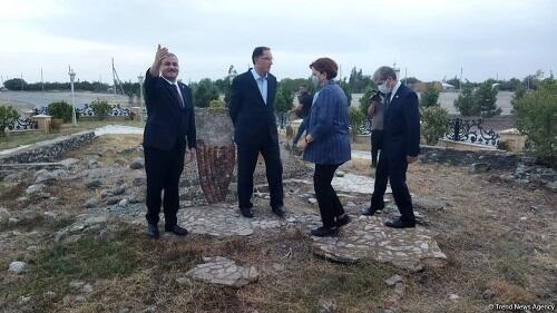OIC OA delegation viewed Maraga-150 monument