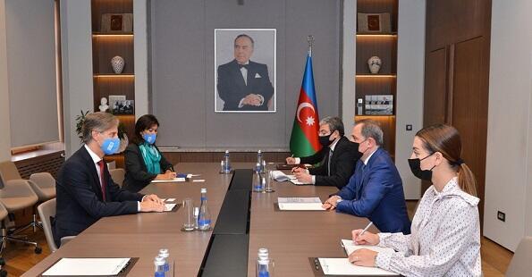 Bayramov met with a UN representative