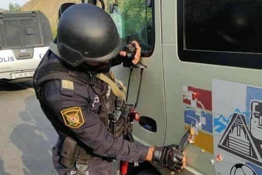 Azərbaycan polisi erməni uşaqları başa saldı ki... – Video
