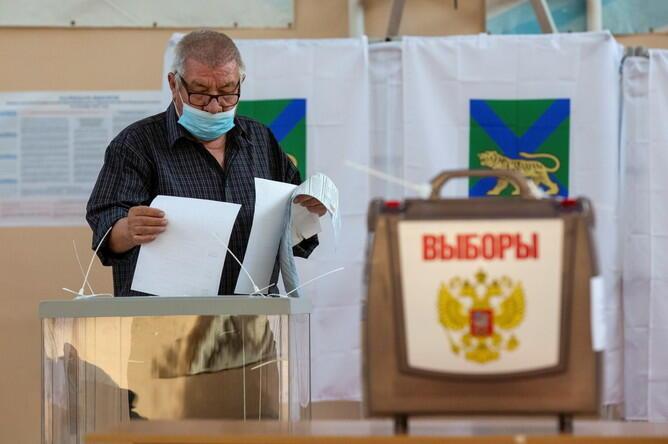 Səslərin 90 faizi sayıldı: Putinin partiyası liderdir