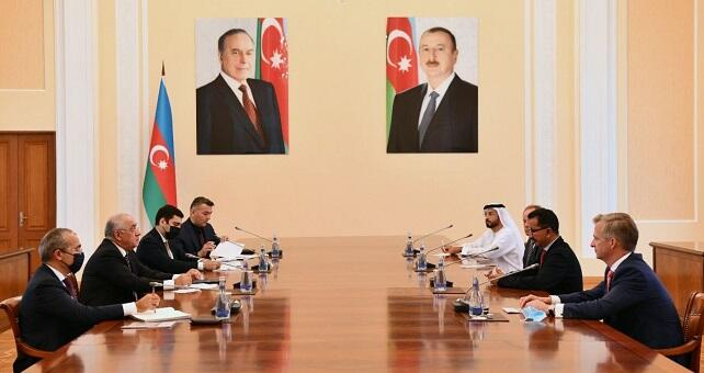 Ali Asadov met with Sulayem