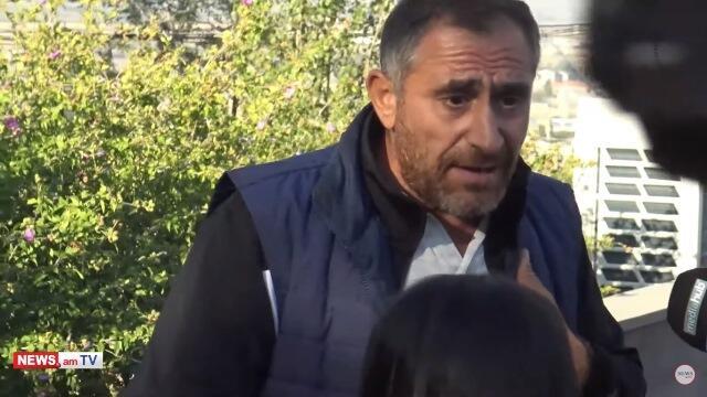 Erablurda insident: Ölən əsgərin atasını qovdular - Video