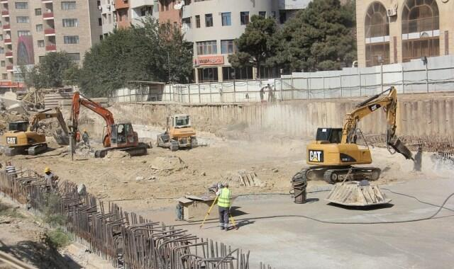 Construction of new station of Baku Metro started -