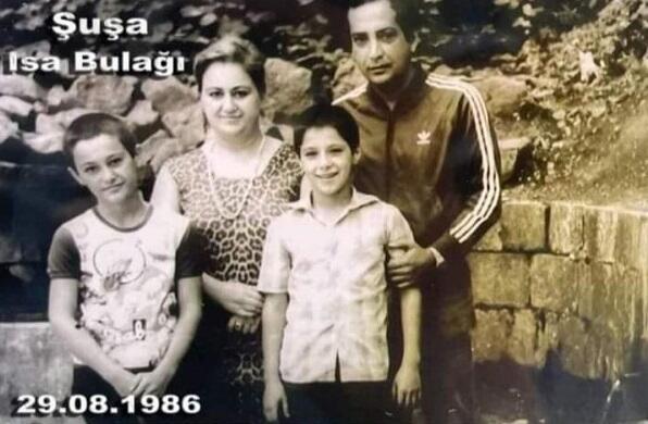 Rasim Balayev ailəsi ilə birlikdə Şuşada - 35 il fərqlə