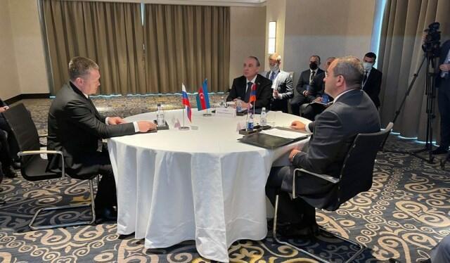 Встретились генпрокуроры Азербайджана, России и Армении