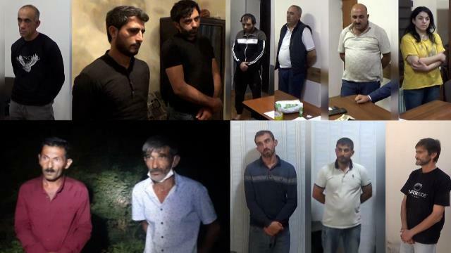 Polis əməliyyatlar keçirdi: 13 nəfər saxlanıldı - Video