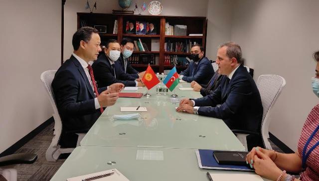 Bayramov met with Ruslan Kazakbayev