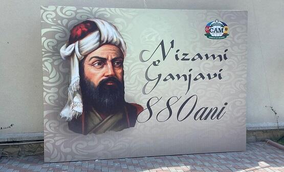 """Bu ölkədə """"Nizami Gəncəvi 880"""" adlı tədbir keçirildi - Foto"""