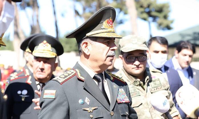 Zakir Hasanov visited II Alley of Honor