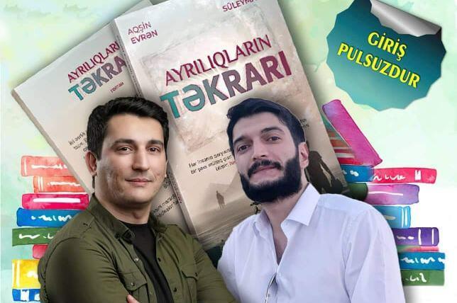 Aqşin Evrən və Xəzər Süleymanlı imza günü keçirəcək