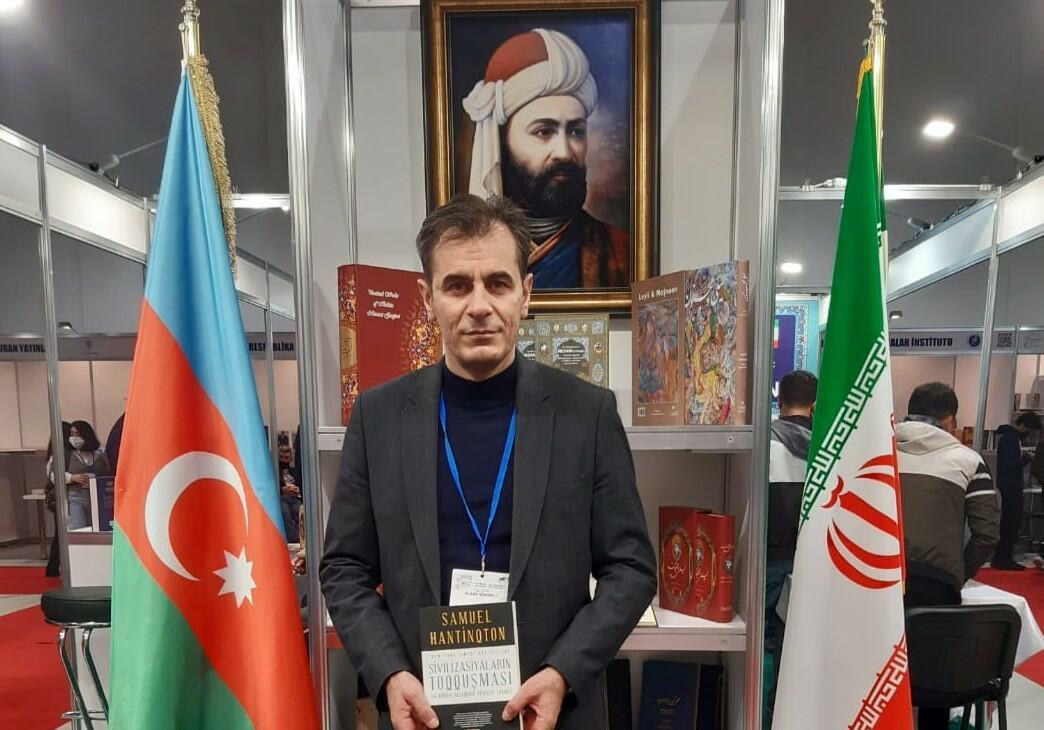 Bakıda sərgidə İran bayrağı mübahisəyə səbəb oldu – Foto