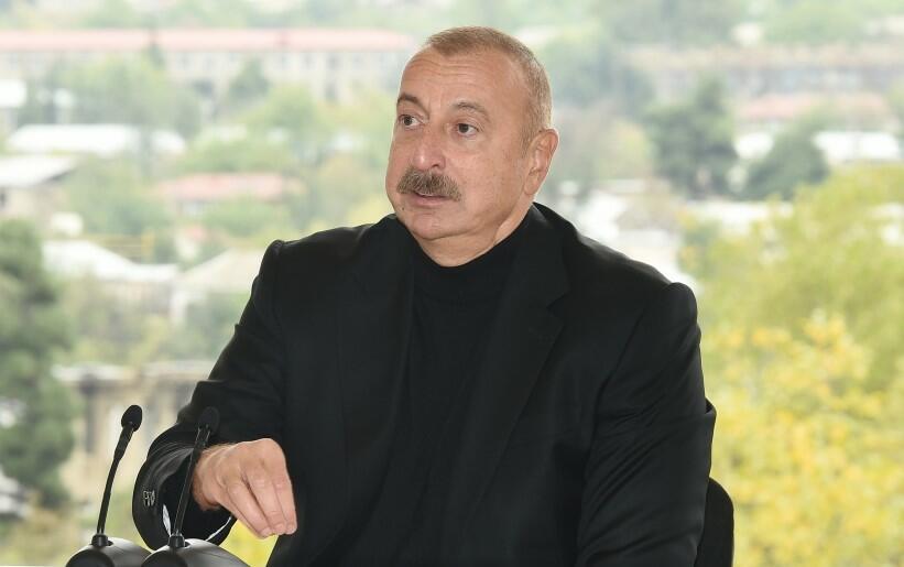 Ilham Aliyev talked about the Armenian vandalism