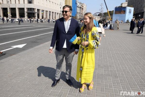 Saakashvili broke up with her - Yasko