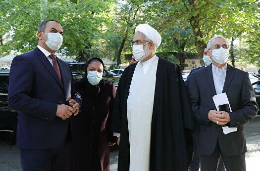 İranın baş prokuroru İrəvana gəldi
