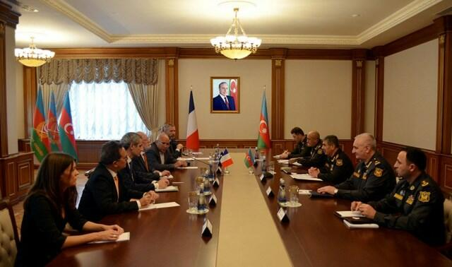 The Defense Minister met with the French delegation