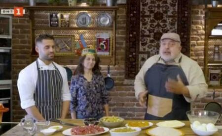 Bolqarıstan televiziyasında Azərbaycan mətbəxi - Video