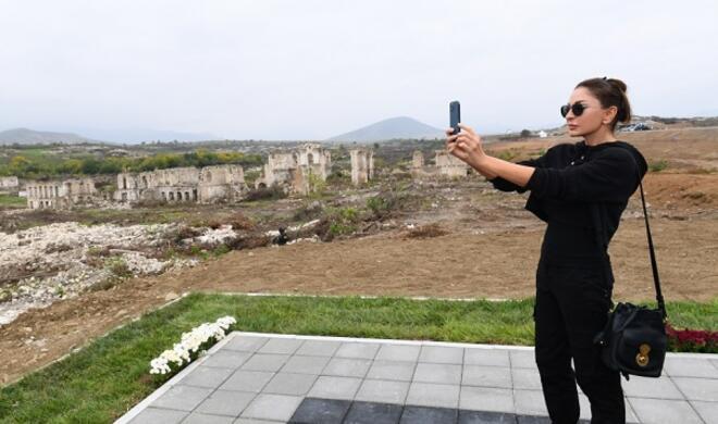 Мехрибан Алиева поделилась кадрами из Губадлы