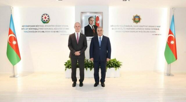 Azerbaijan's SSS chief meets with ICRC vice-president