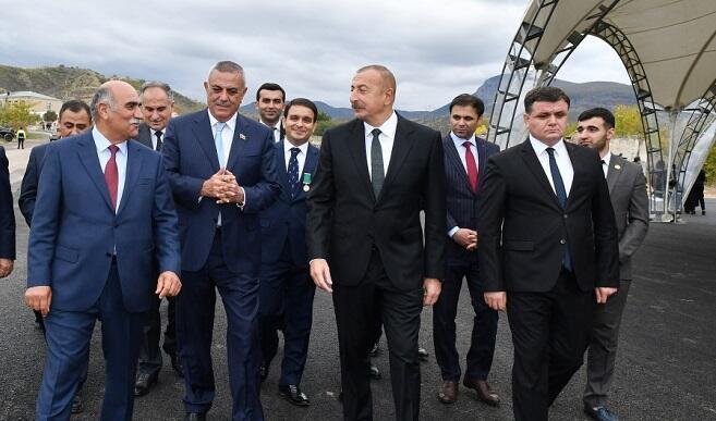 Prezident Zəngilanda görüş keçirdi - Foto