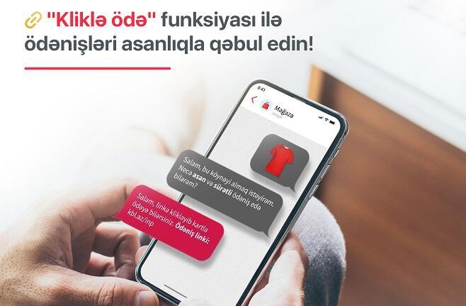 """Kapital Bank yeni """"Kliklə ödə"""" xidmətini təqdim etdi"""