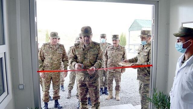 В освобожденных районах открылись военные объекты