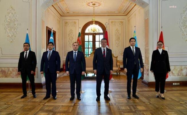 İmamoğlu türk dövlətlərinin diplomatları ilə görüşdü