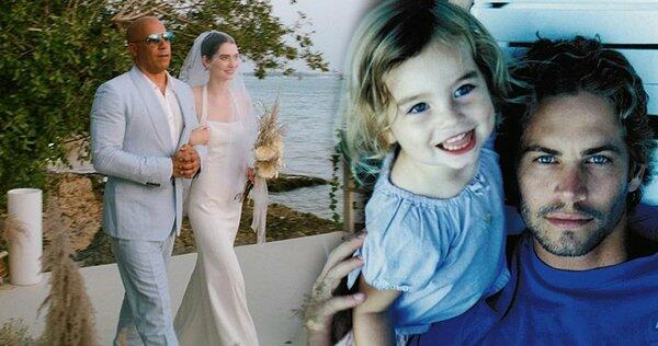 The famous actor Paul Walker's daughter is married
