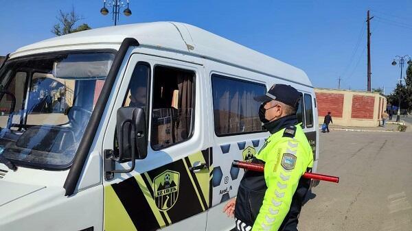Polis Masallıda sürücülərə qarşı reyd keçirdi