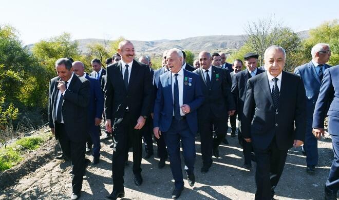 Президент и первая леди посетили Губадлы - Видео