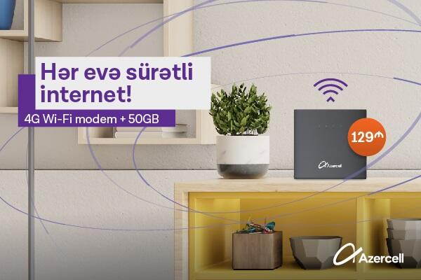 """""""Azercell""""dən yeni Wi-Fi kampaniyası!"""