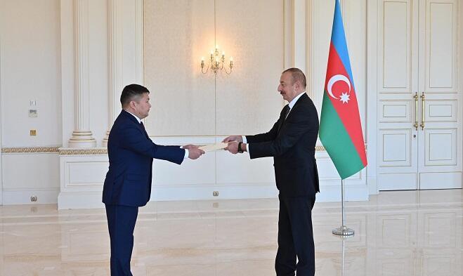 Prezident Qırğızıstan səfirini qəbul etdi