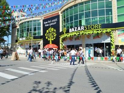 """""""Bazarstor""""a basqın: hücüm edən şəxs tutuldu - Foto"""