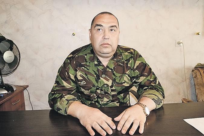 Separatçı lider Moskvaya getdi: