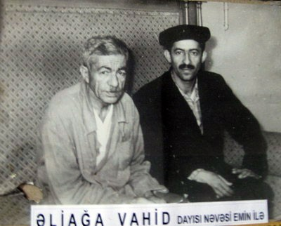 Əliağa Vahidlə bağlı möhtəşəm iş - Foto