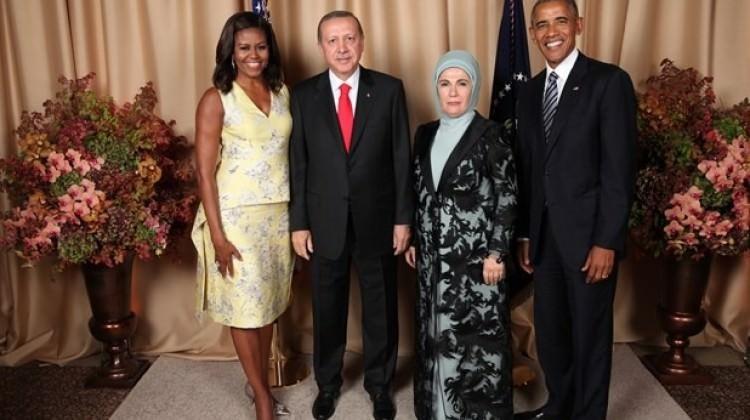 Obama Ərdoğanı belə qarşıladı – Foto