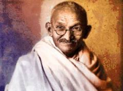 Gandhi's statue vandalised in the US