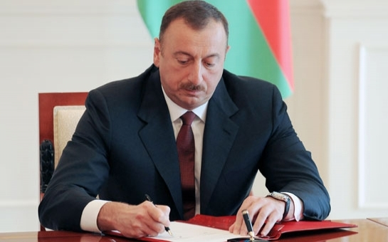 İlham Əliyev 2 sərəncam, 4 fərman imzaladı