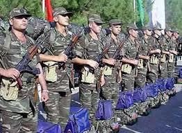 Müddətli həqiqi hərbi xidmətə çağırış başa çatdı