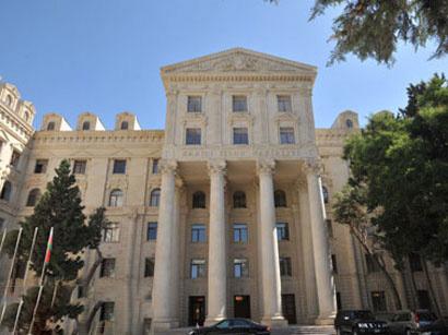 Жесткий ответ МИД Азербайджана генсеку Хачатурову