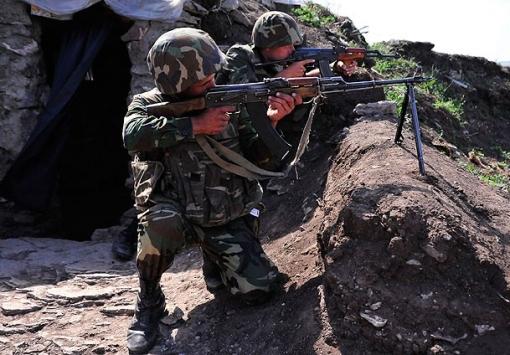 Armenia violated ceasefire