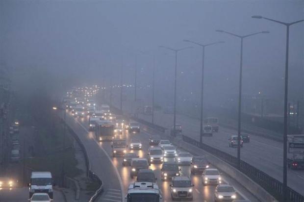 В Баку наблюдается сильный туман