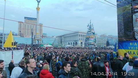 Poroşenko tərəfdarları sabah aksiyaya çıxır