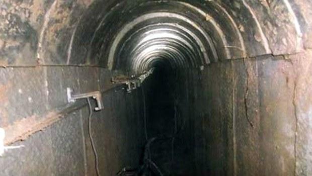 سورییا اوردوسو گیزلی تونل تاپدی - ویدئو