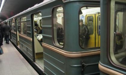 Bakı metrosunda inanılmaz sıxlıq - Foto