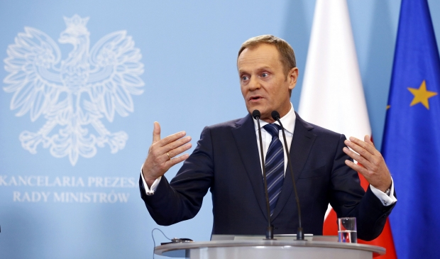Tusk and Boris Johnson clash over who is 'Mr No Deal' -