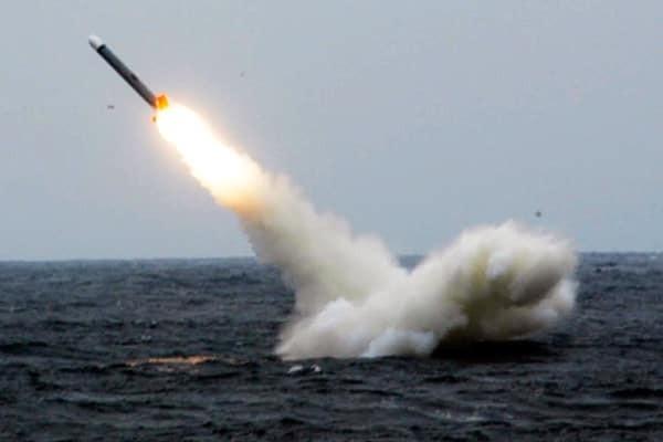 запуск калибр с подводной лодки