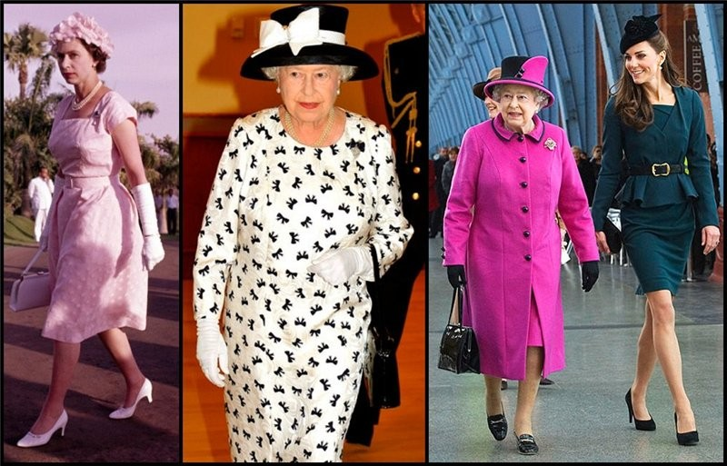 Фото платья королевы елизаветы
